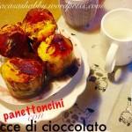 Panettoncini con gocce di Cioccolato
