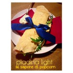 Piadine light al sapore di Pop Corn