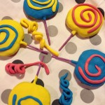 Lollipop Cookies per carnevale