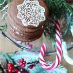 Christmas tree cookies al cacao con zenzero e cannella