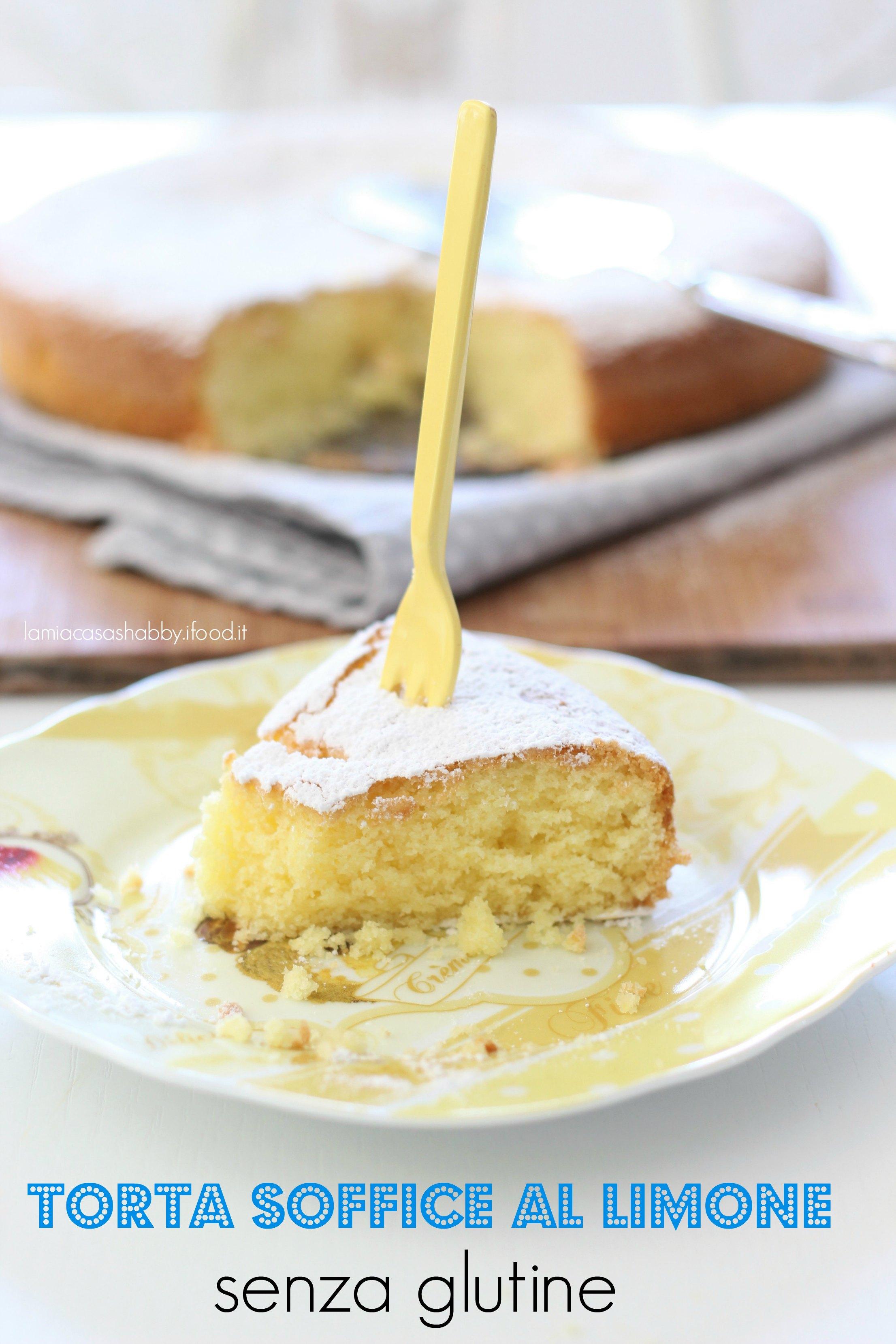 torta soffice al limone glutenfree