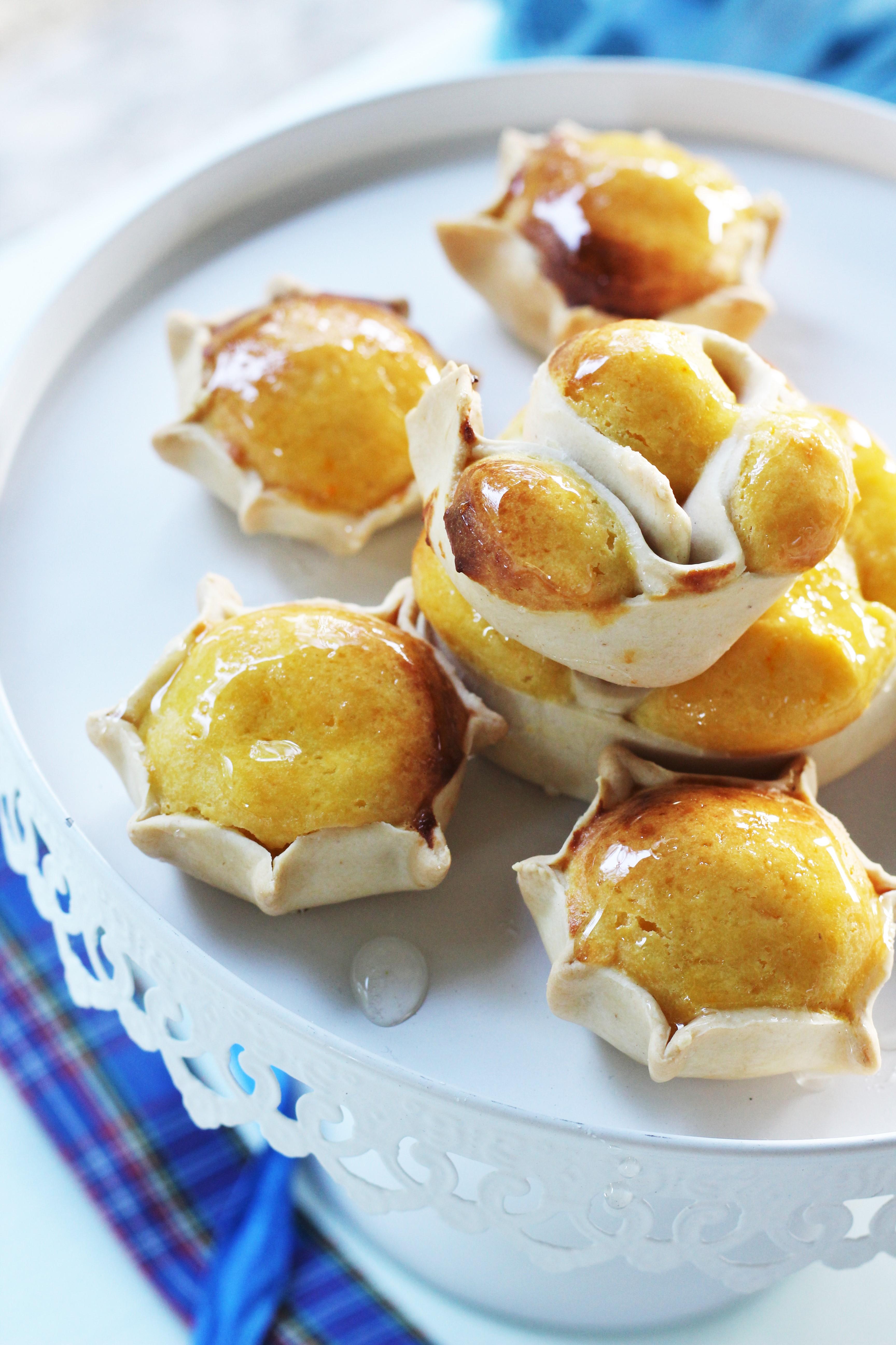 Pardulas alla ricotta (formaggelle sarde)