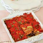 Parmigiana di zucchine velocissima e light