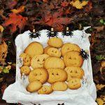 Pumpkin Cookies (biscotti a forma di zucca)