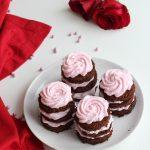 MINI TORTINE AL CACAO per San Valentino