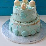 Torta di Battesimo (Naked Chiffon Cake)